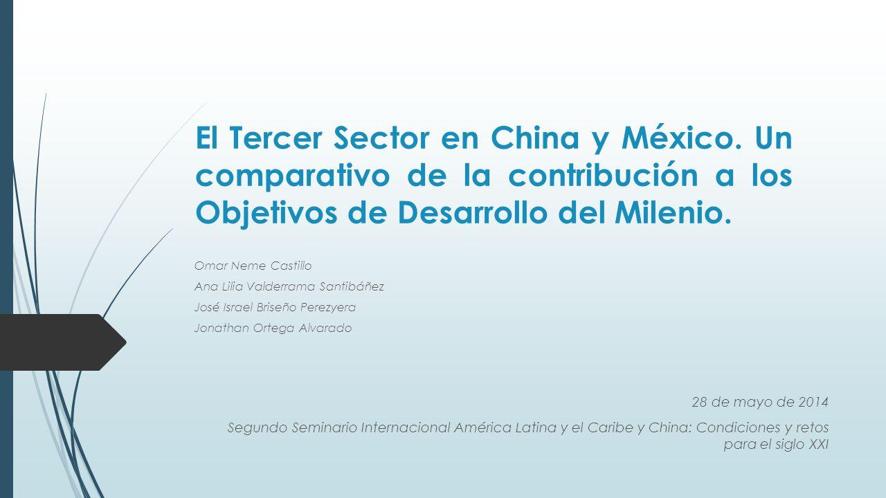 El Tercer Sector en China y México.