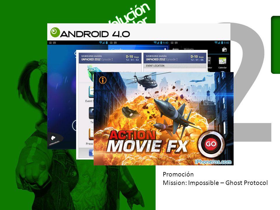 Promoción Mission: Impossible – Ghost Protocol