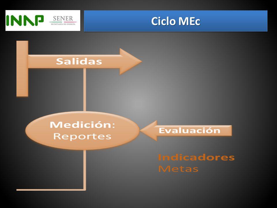HIPÓTESIS:Objetivos VARIABLESCaracterísticas del concepto DIMENSIONESPropiedades de la variable INDICADORES Miden dimensiones de la variable OPERACIONALIZACIÓN Definición, medición y análisis de las variables MEC e indicadores Factores Críticos de Éxito