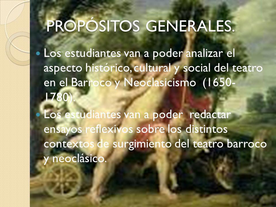 PROPÓSITOS GENERALES.