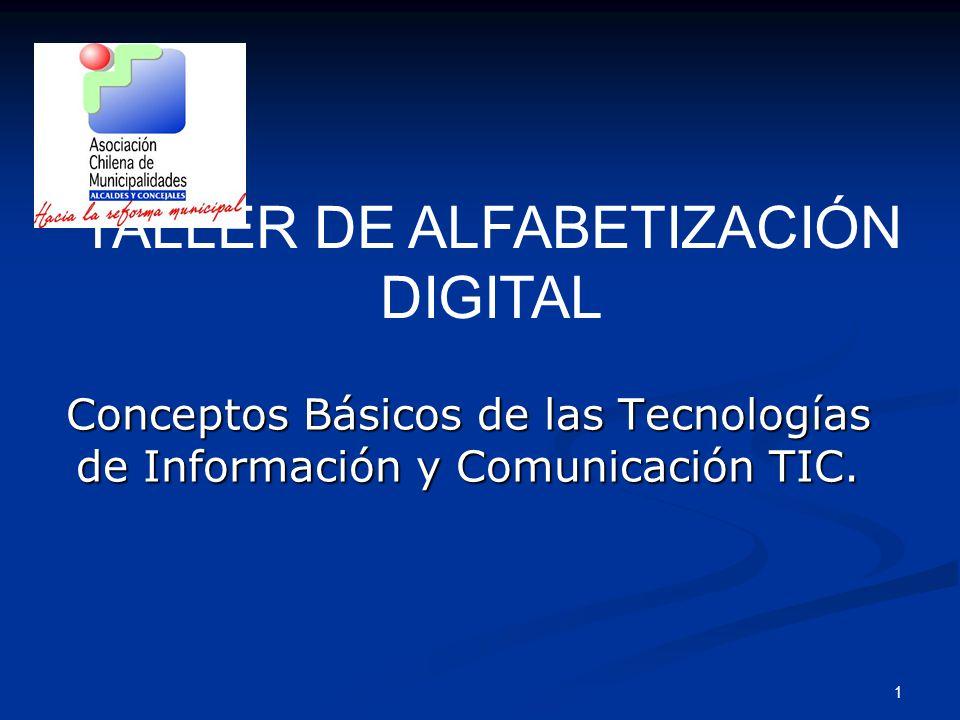 1 Conceptos Básicos de las Tecnologías de Información y Comunicación TIC.