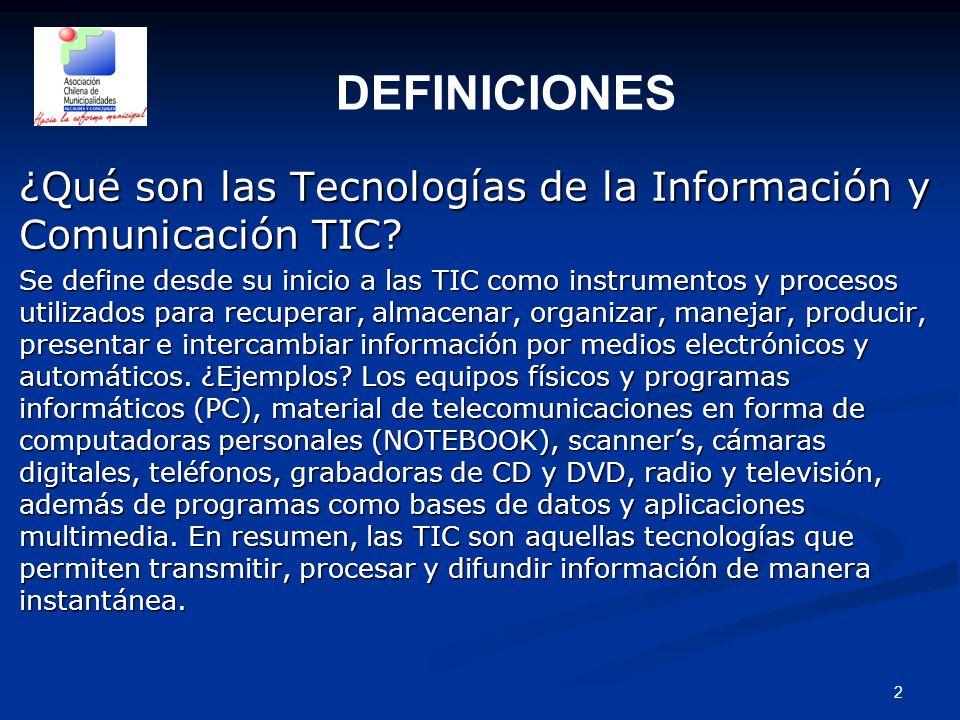 2 ¿Qué son las Tecnologías de la Información y Comunicación TIC.