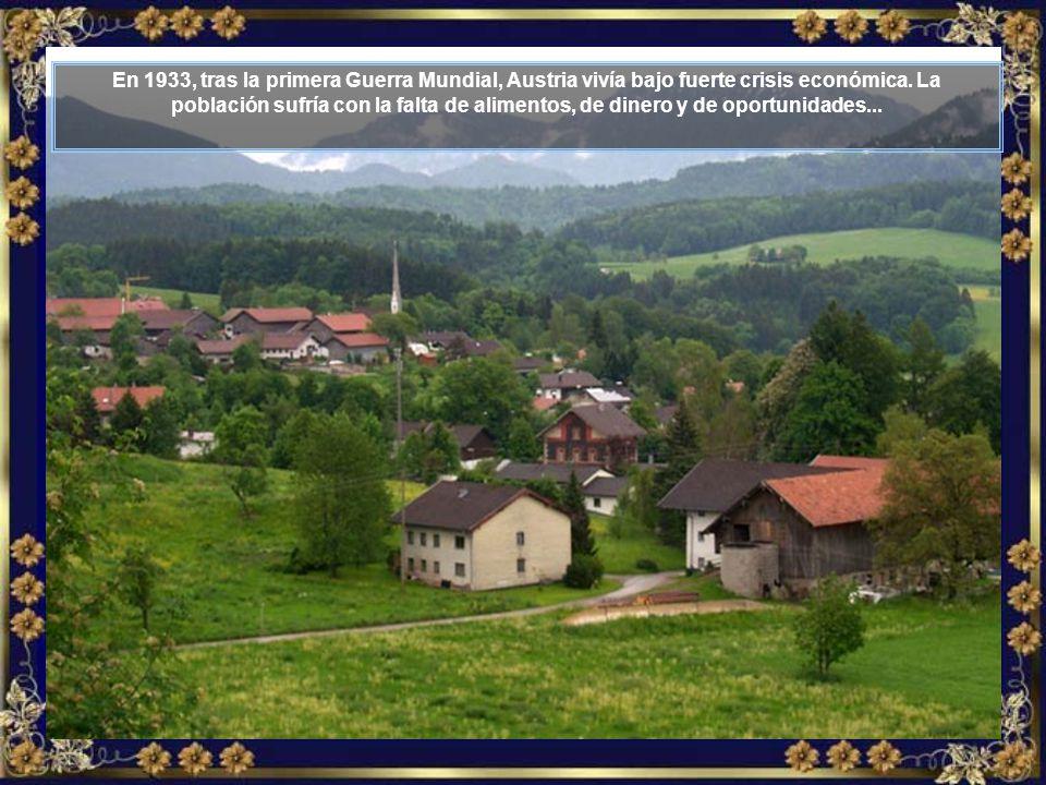Es una historia de amor, de coraje, de trabajo y de mucha perseverancia, que empieza aquí en Austria, en la región de Tirol...