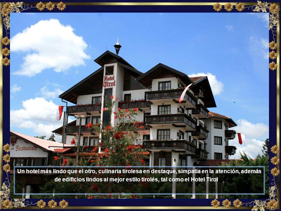 Amplios y bellos hoteles atienden los huéspedes con un servicio de primerísima calidad, como es el caso del Park Hotel...