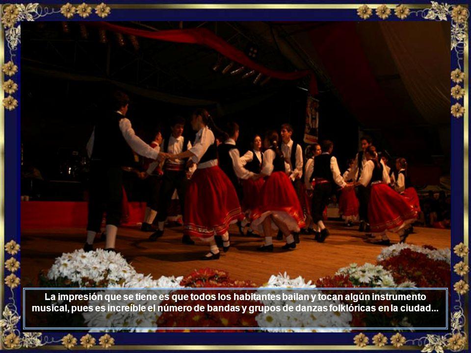 Un grandioso desfile con muchas canciones y danzas folklóricas, bandinhas, mucho chopp y deliciosos platos tiroleses, pueden ser apreciados durante la fiesta...