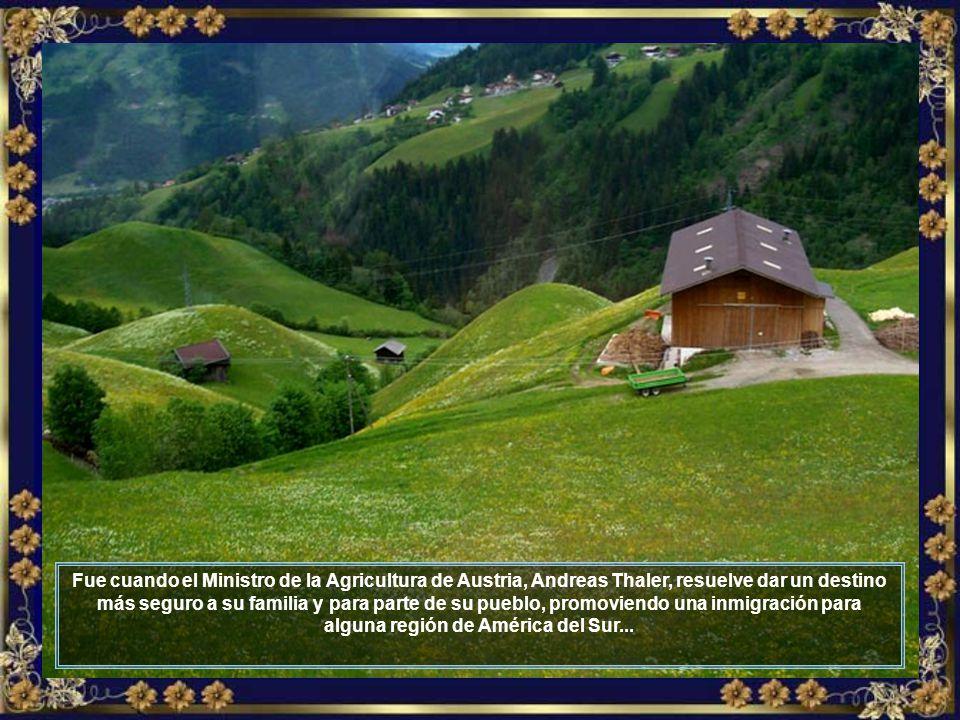 La región de Tirol fue duramente afectada por la crisis.