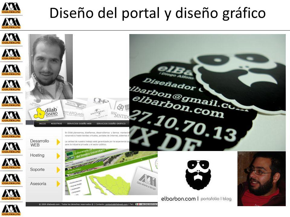 Diseño del portal y diseño gráfico