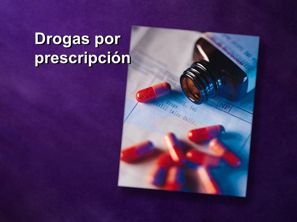 Drogas por prescripción