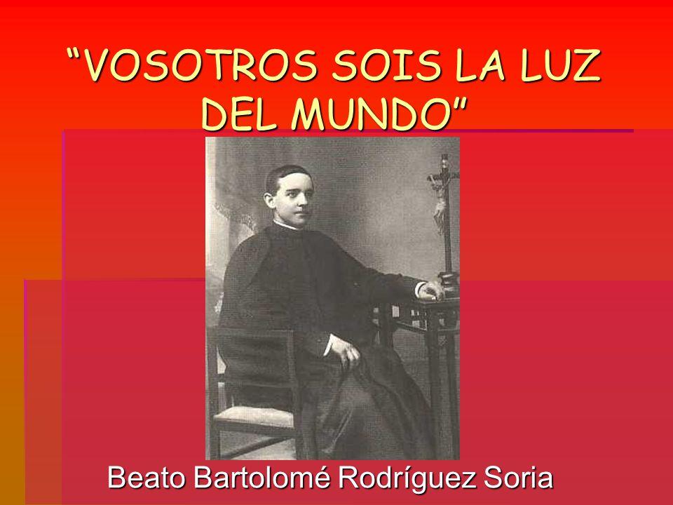 """La presentaci�n """"�VOSOTROS SOIS LA LUZ DEL MUNDO� (Mt 5, 14). �Yo ..."""