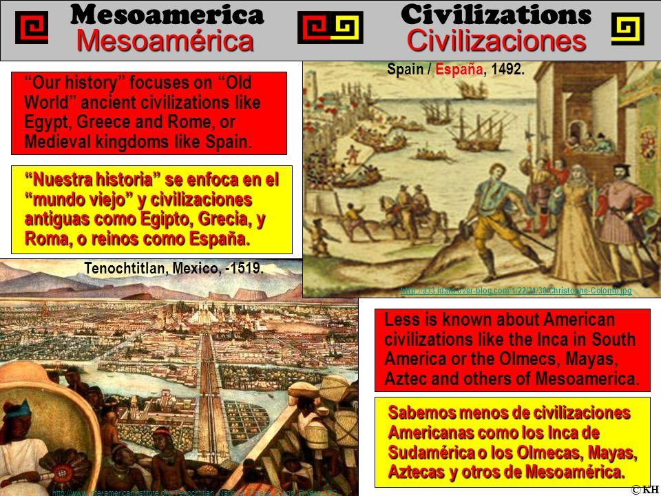 Nuestra historia se enfoca en el mundo viejo y civilizaciones antiguas como Egipto, Grecia, y Roma, o reinos como España.