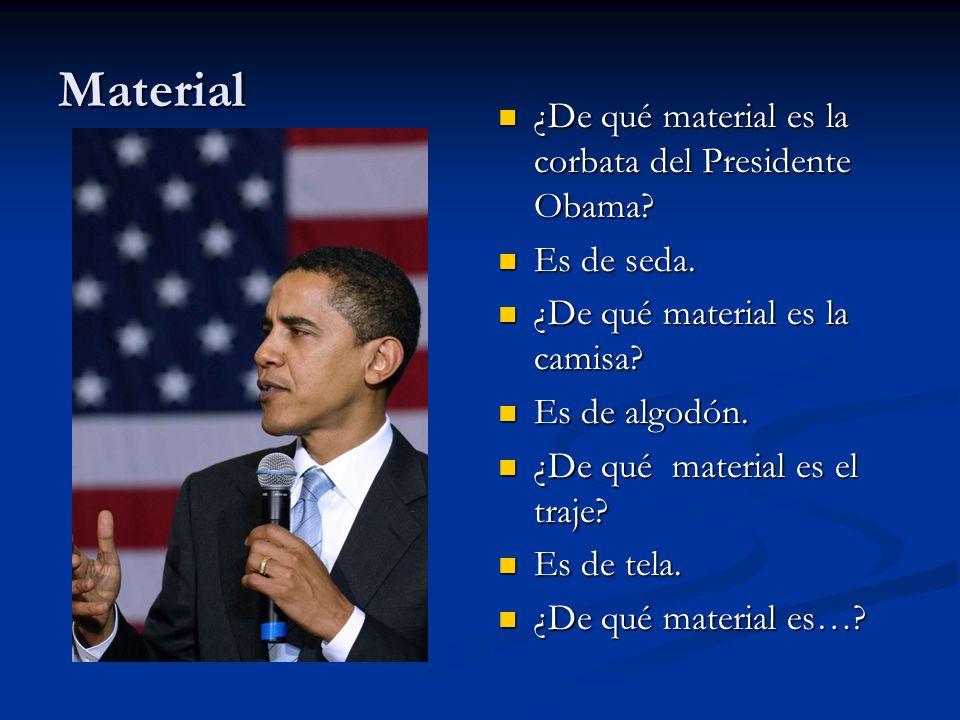 Material – para describir el material de objetos.
