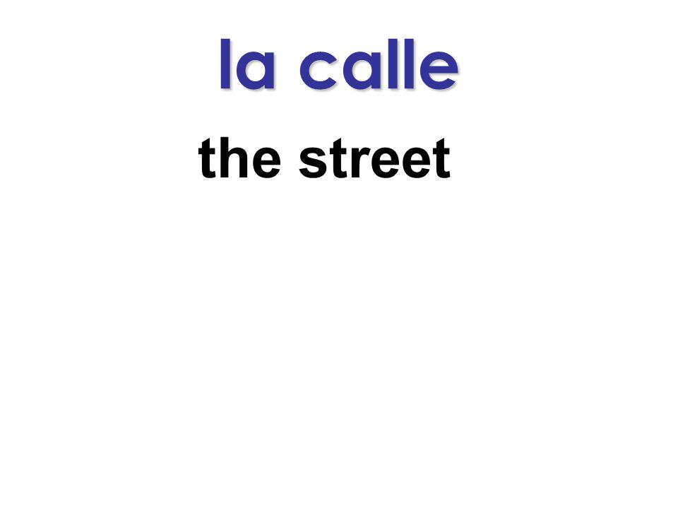 la calle the street