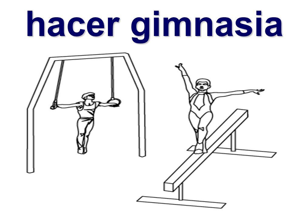 hacer gimnasia hacer gimnasia