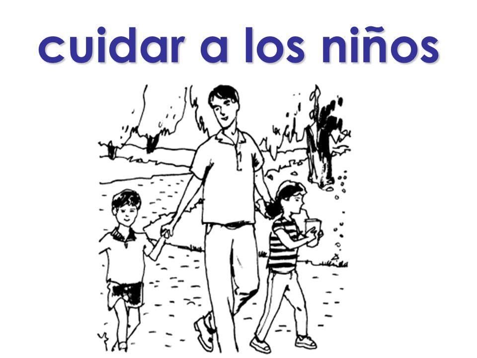 cuidar a los niños