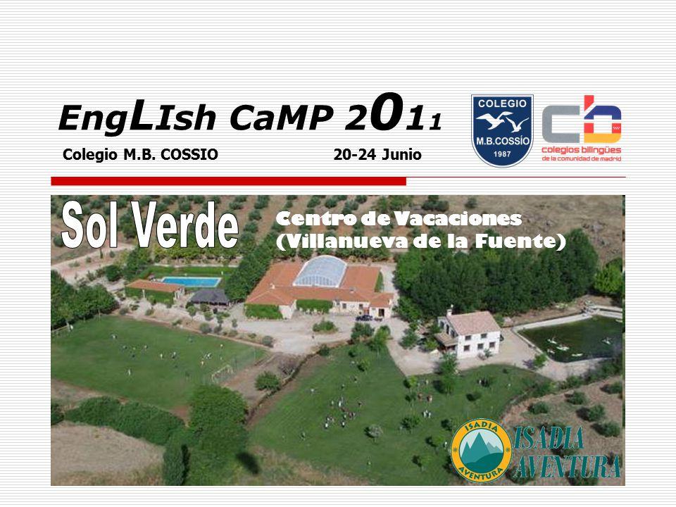 Eng L Ish CaMP 2 0 1 1 Colegio M.B.