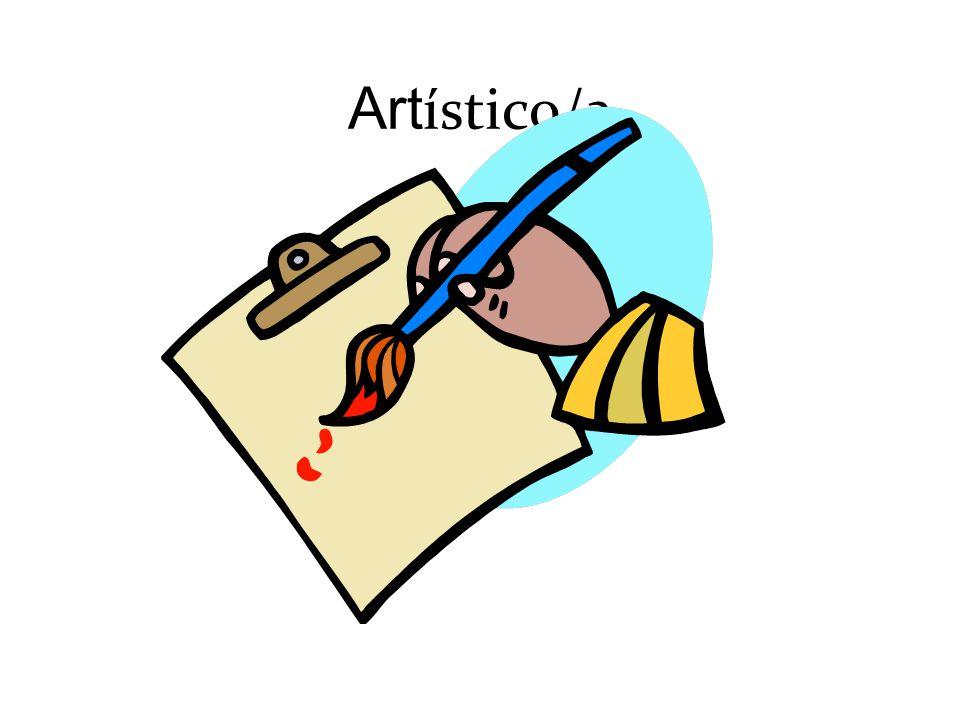 Art ístico/a