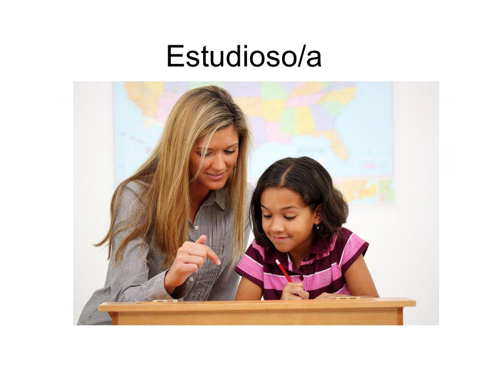 Estudioso/a