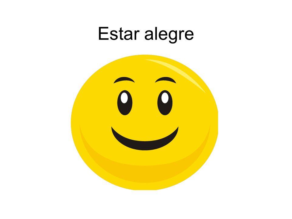 Estar alegre