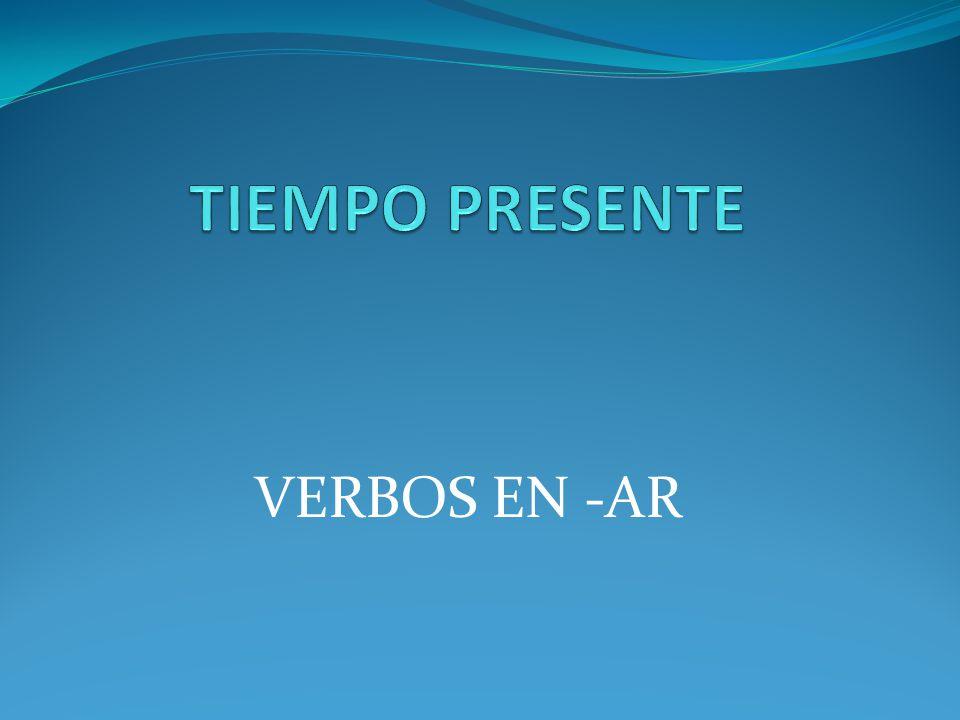 VERBOS EN -AR
