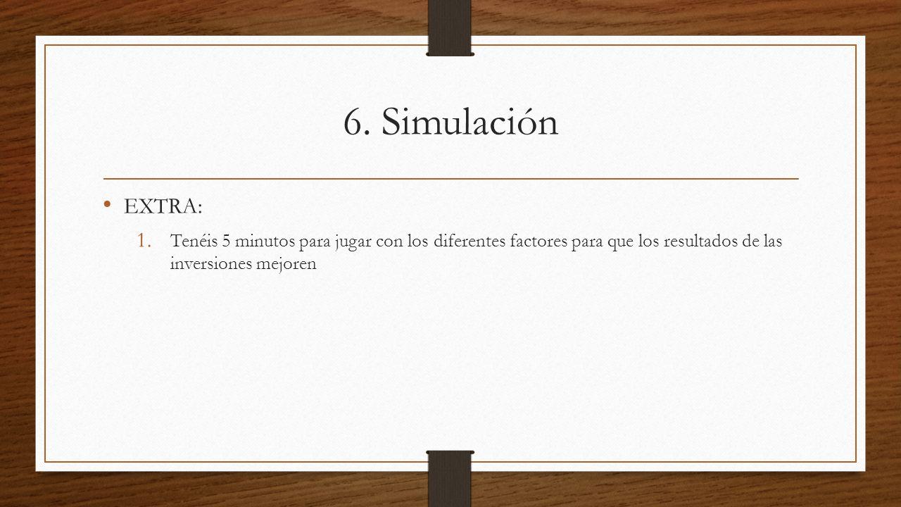 6. Simulación EXTRA: 1.