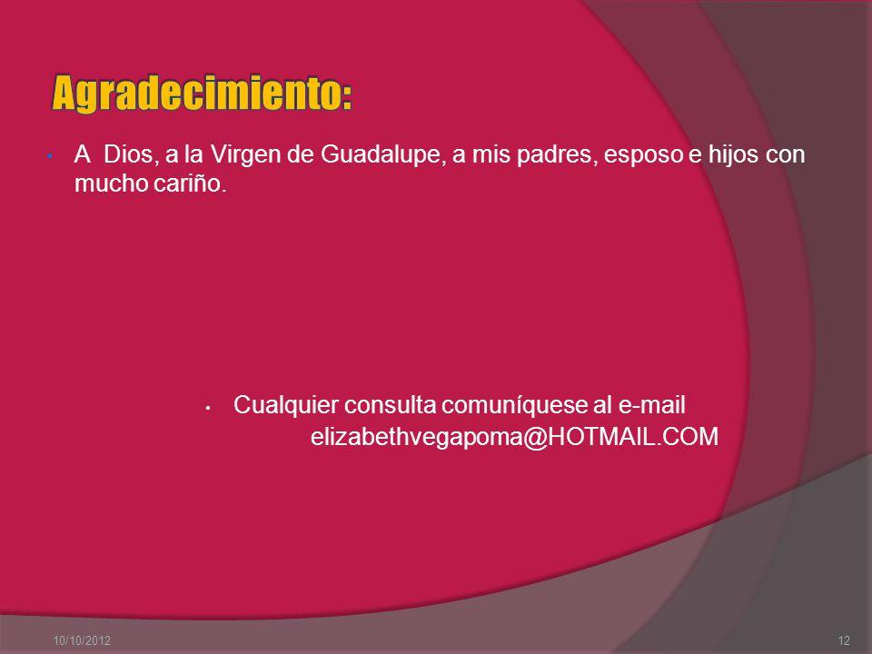 Bibliografía http://www.buenastareas.com/ensayos/Ventajas-y- Desventajas-Del-Uso-Del/2456805.html http://opinemossobretecnologia.bitacoras.com/archivos/20 06/05/09/ventajas-y-desventajas-del-uso-de-internet-en- la-educacion http://blogs.educared.org/red-pronino/groups/punto-de- encuentro-entre-escuelas/forum/topic/internet-ventajas-y- desventajas/ http://www.alumnosonline.com/notas/ventajas- desventajas-internet.html http://educacioninfantil.com/educacion-infantil/item/107- beneficios-y-desventajas-de-internet-para-los-m%E1s- j%F3venes-de-la-casa http://www.tecnologiasvisuales.com/blog/ventajas-y- desventajas-del-internet-analisis-personal/ 10/10/201211Prof.