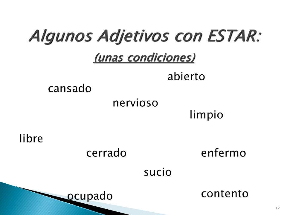 11  la localización  las condiciones  Emociones location conditions emotions