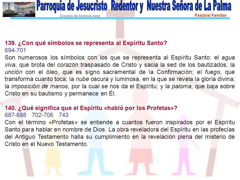 Diócesis de Asidonia-Jerez Pastoral Familiar 139.