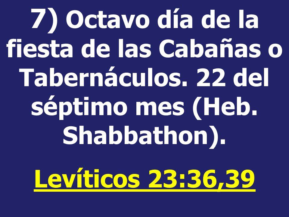 Resultado de imagen para LEVITICO 23:36