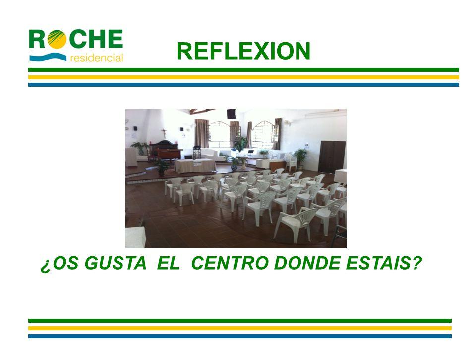 REFLEXION ¿OS GUSTA EL CENTRO DONDE ESTAIS
