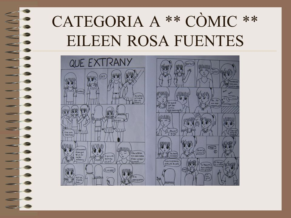 CATEGORIA A ** CÒMIC ** EILEEN ROSA FUENTES