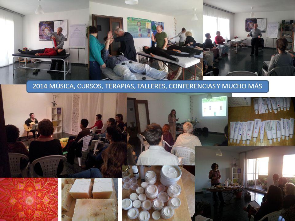 2014 MÚSICA, CURSOS, TERAPIAS, TALLERES, CONFERENCIAS Y MUCHO MÁS