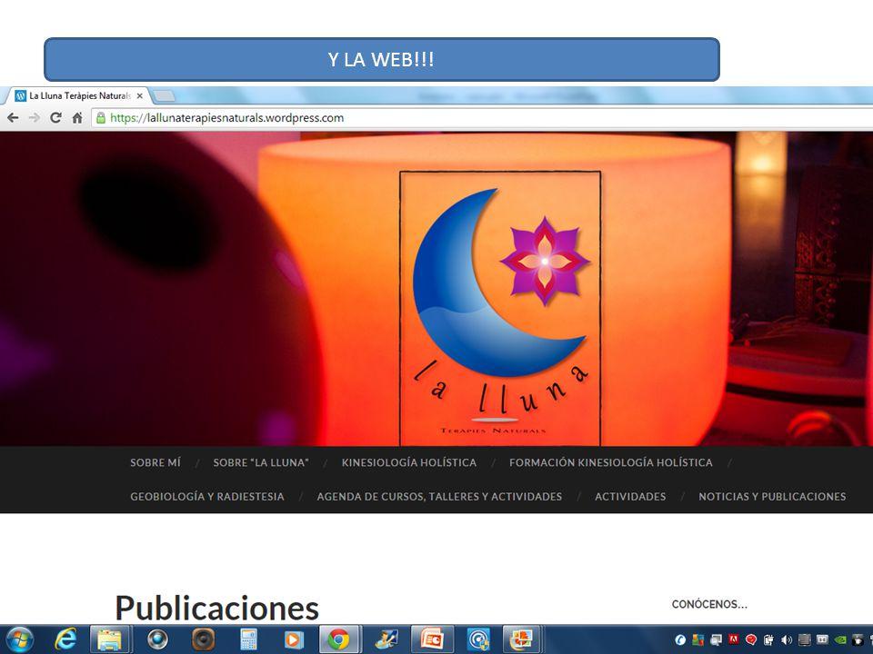 Y LA WEB!!!