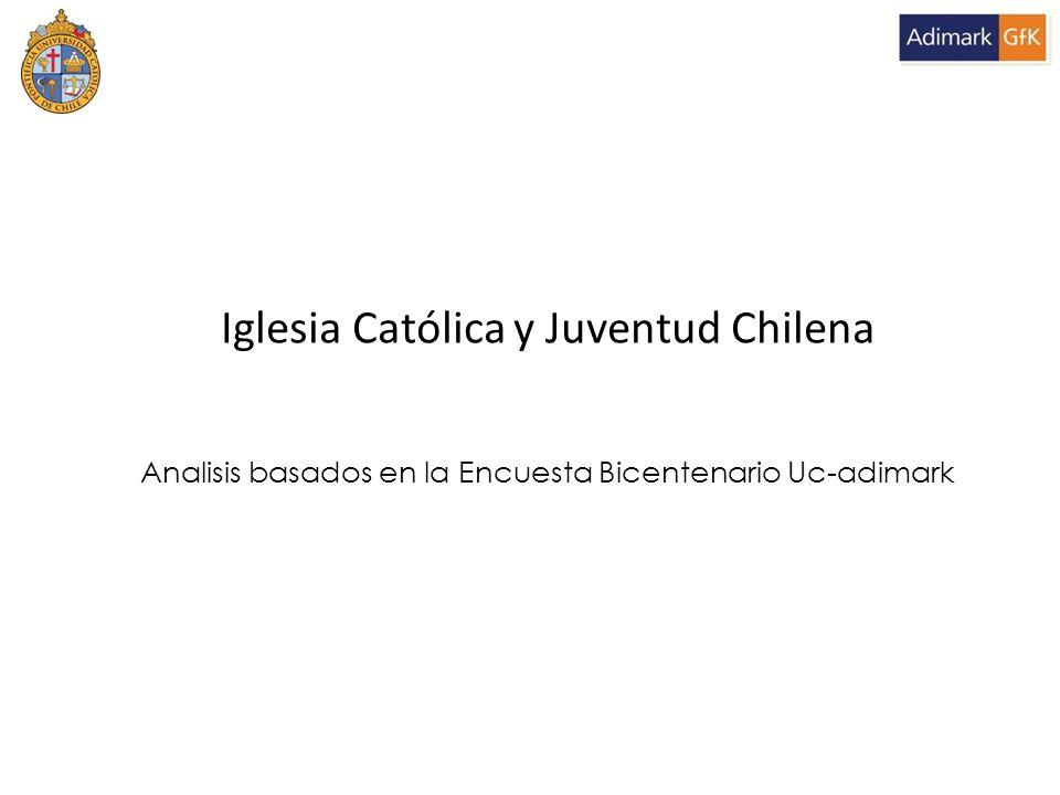 Iglesia Católica y Juventud Chilena Analisis basados en la Encuesta Bicentenario Uc-adimark
