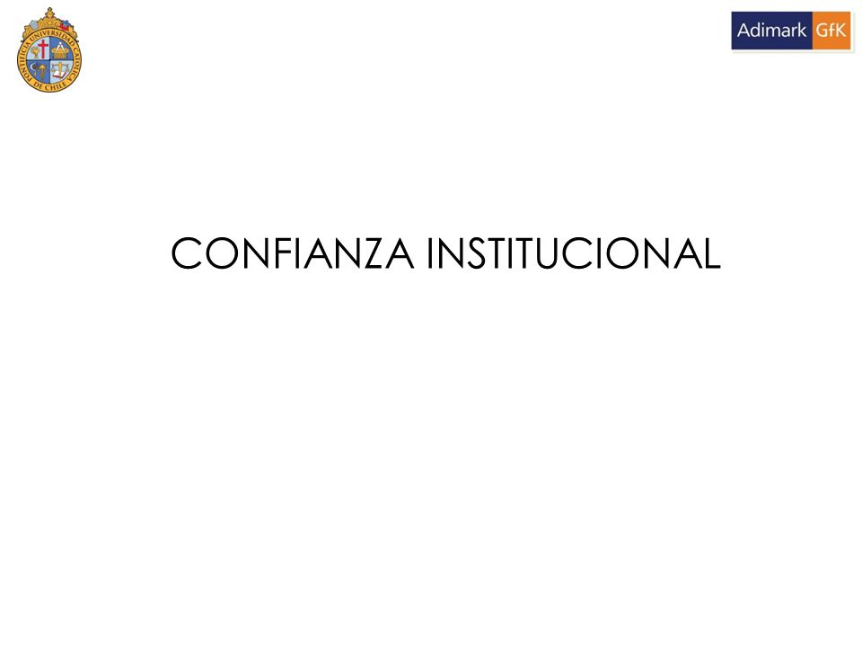 CONFIANZA INSTITUCIONAL