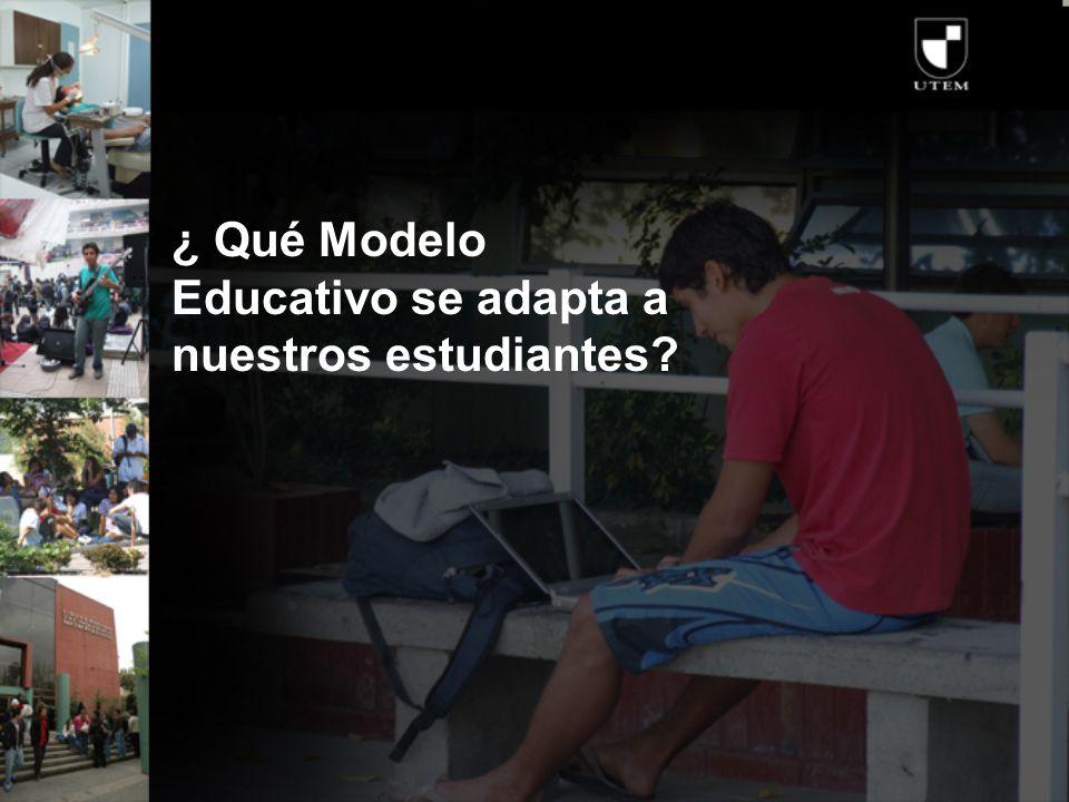 ¿ Qué Modelo Educativo se adapta a nuestros estudiantes