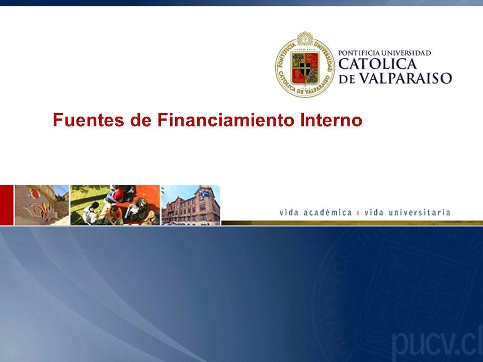 Fuentes de Financiamiento Interno