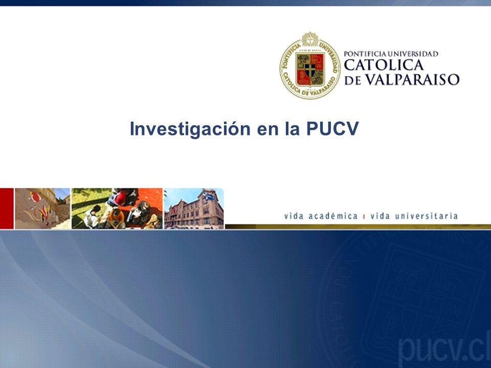 Investigación en la PUCV
