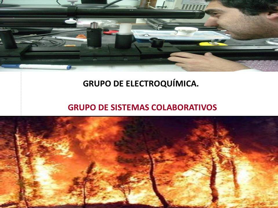GRUPO DE ELECTROQUÍMICA. GRUPO DE SISTEMAS COLABORATIVOS