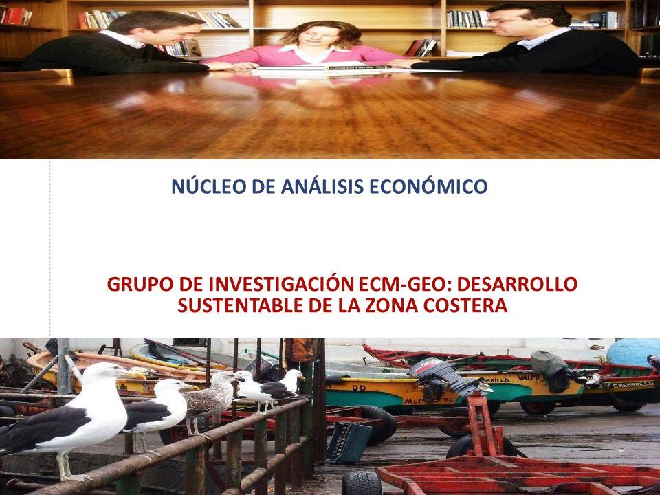 NÚCLEO DE ANÁLISIS ECONÓMICO GRUPO DE INVESTIGACIÓN ECM-GEO: DESARROLLO SUSTENTABLE DE LA ZONA COSTERA
