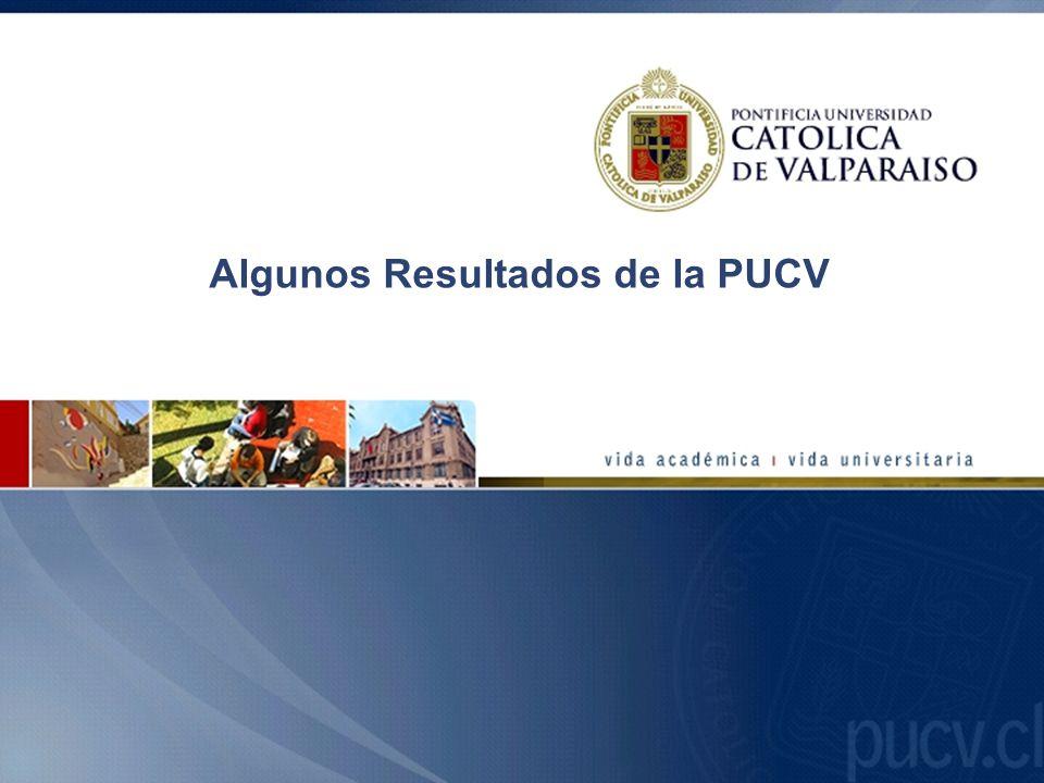 Algunos Resultados de la PUCV