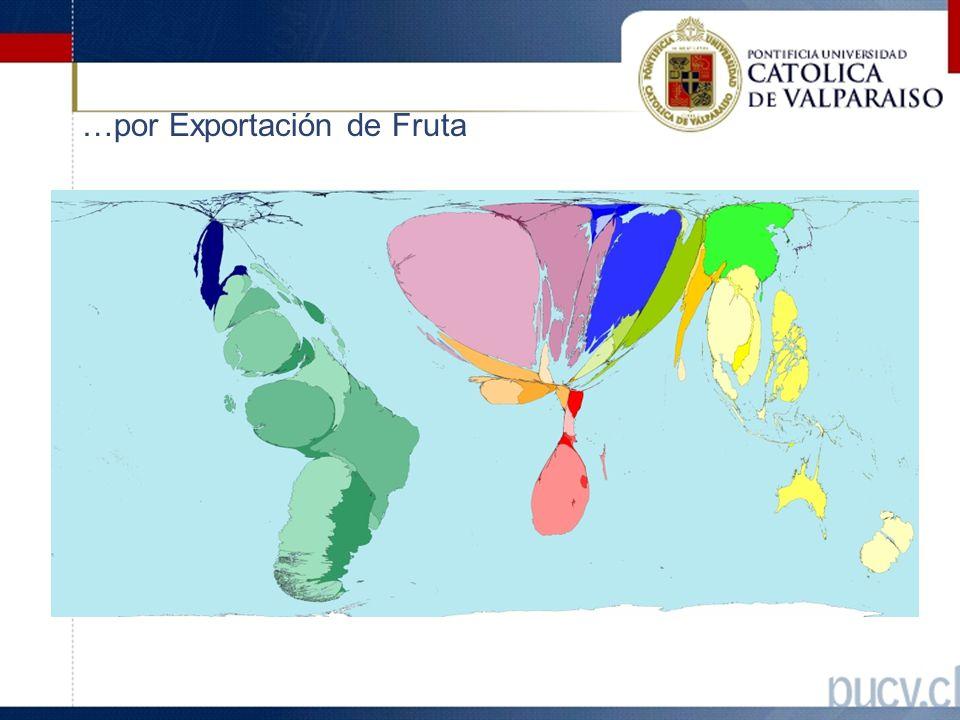 …por Exportación de Fruta