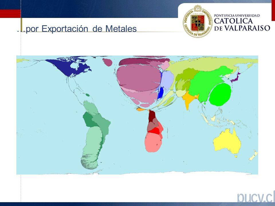 …por Exportación de Metales