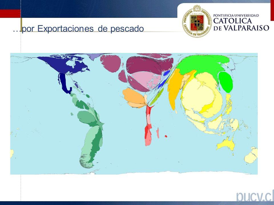 …por Exportaciones de pescado