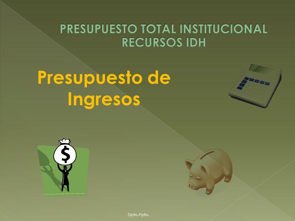 A partir de octubre de 2005, la Universidad Mayor de San Andrés, ha comenzado a recibir recursos provenientes del IDH, en base a los criterios de asignación definidos por el Gobierno Nacional que básicamente determina que del 100% de los ingresos percibidos por el Departamento por concepto de IDH, el 8.62% será asignado para las dos universidades públicas; Universidad Mayor de San Andrés y Universidad Pública de El Alto, de donde el 50% se distribuye en proporciones iguales entre ambas y el restante 50% en función a criterios de población estudiantil, que han determinado que sobre esta segunda proporción, a la UMSA le corresponda el 70%.