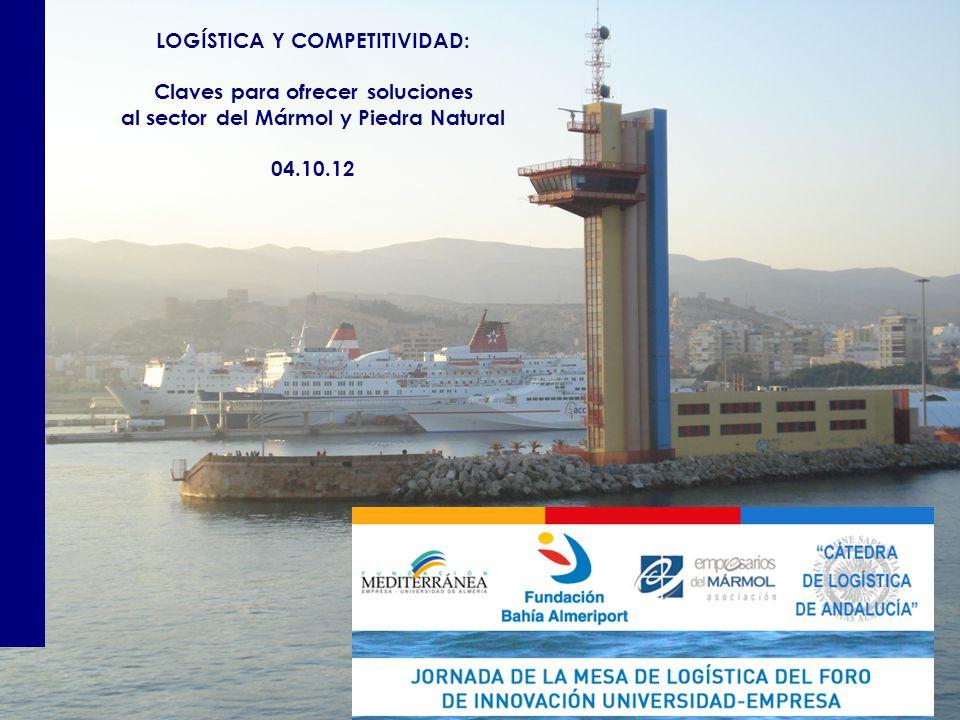 LOGÍSTICA Y COMPETITIVIDAD: Claves para ofrecer soluciones al sector del Mármol y Piedra Natural 04.10.12
