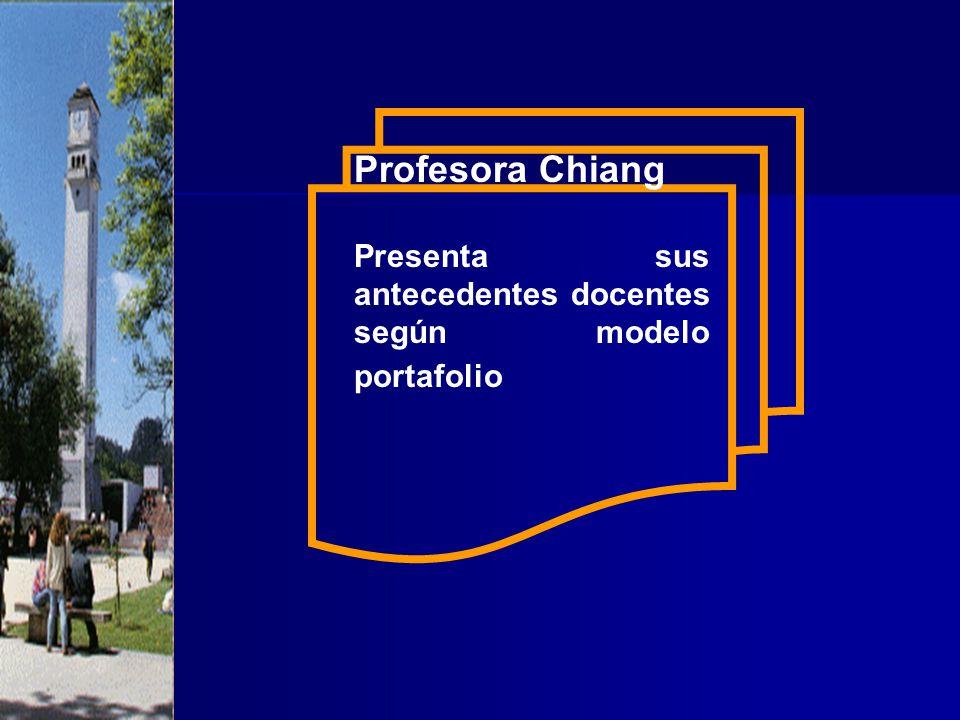 Profesor Benvenuto: Elabora el documento Carpeta Docente de Asignatura.