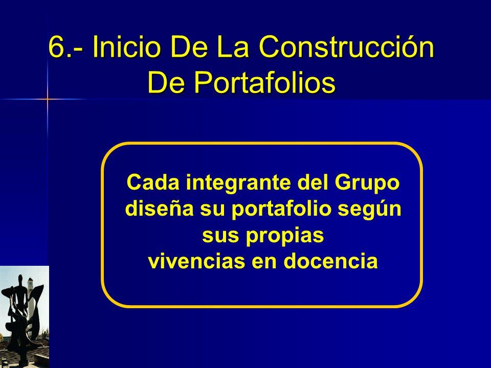 En El Camino 5.- Beneficios del Portafolio En El Camino De Construcción 1.