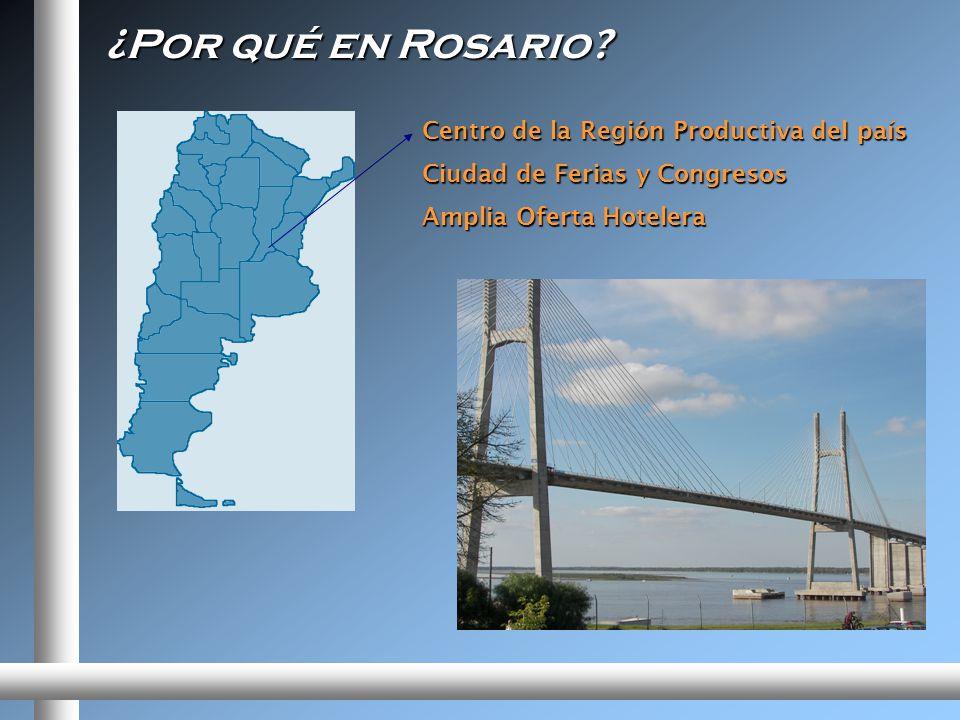 ¿Por qué en Rosario.