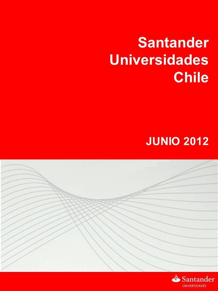 BRASIL Santander Universidades Chile JUNIO 2012