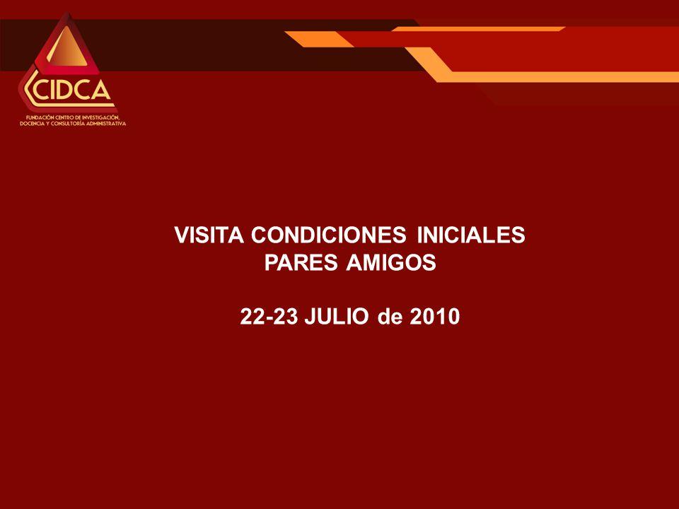 VISITA CONDICIONES INICIALES PARES AMIGOS 22-23 JULIO de 2010